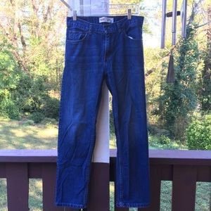 Classic wash Levi jeans style 505